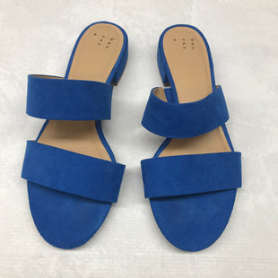 Primary Photo - BRAND: A NEW DAY STYLE: SANDALS LOW COLOR: BLUE SIZE: 8 SKU: 191-191196-5777