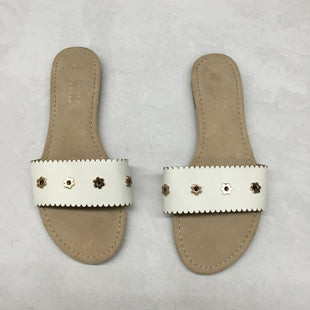 Primary Photo - BRAND: LAUREN CONRAD STYLE: SANDALS FLAT COLOR: WHITE SIZE: 9 SKU: 191-191229-2515