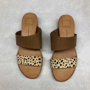 Primary Photo - BRAND: DOLCE VITA STYLE: SANDALS FLAT COLOR: ANIMAL PRINT SIZE: 7.5 SKU: 191-19158-32992