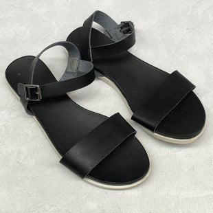 Primary Photo - BRAND: A NEW DAY STYLE: SANDALS FLAT COLOR: BLACK SIZE: 11 SKU: 191-191212-8651
