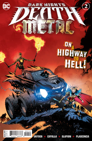 DARK NIGHTS DEATH METAL #2 (OF 6) 2ND PTG GREG CAPULLO RECOLORED VAR