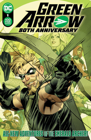 Green Arrow 80th Anniversary 100-Page Super Spectacular #1 All Covers Bundle