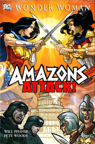 WONDER WOMAN AMAZONS ATTACK HC