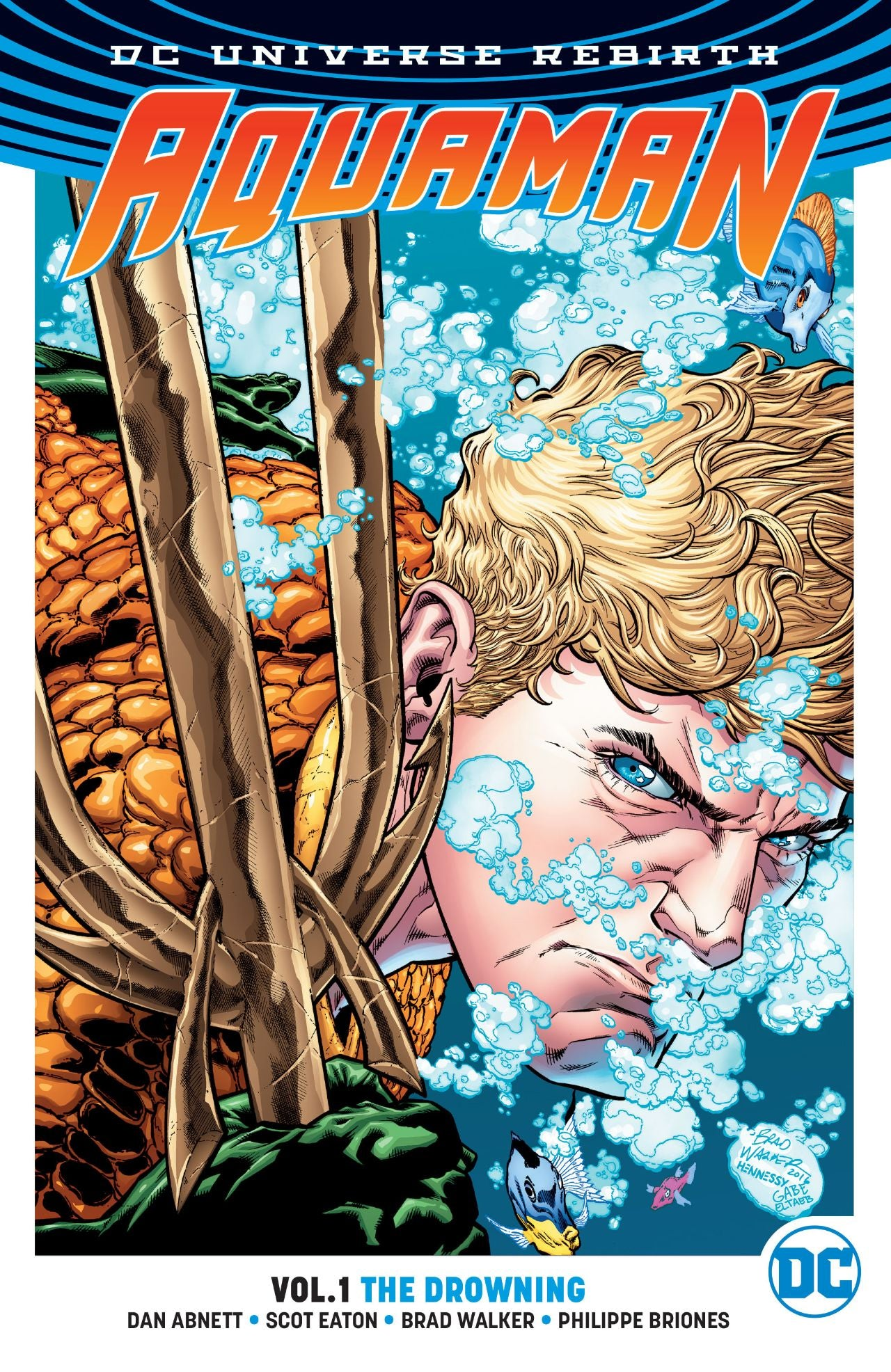AQUAMAN TP VOL 01 THE DROWNING (REBIRTH) | The Multiverse