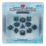 D&D 5E Icewind Dale: Rime of the Frostmaiden Dice Set Pre-Order