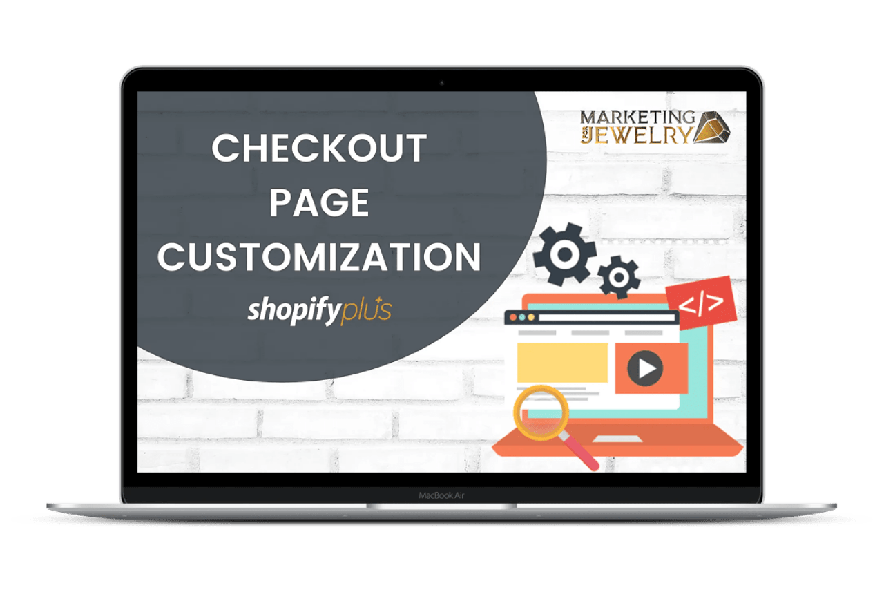 Checkout page customization for Shopify Plus store