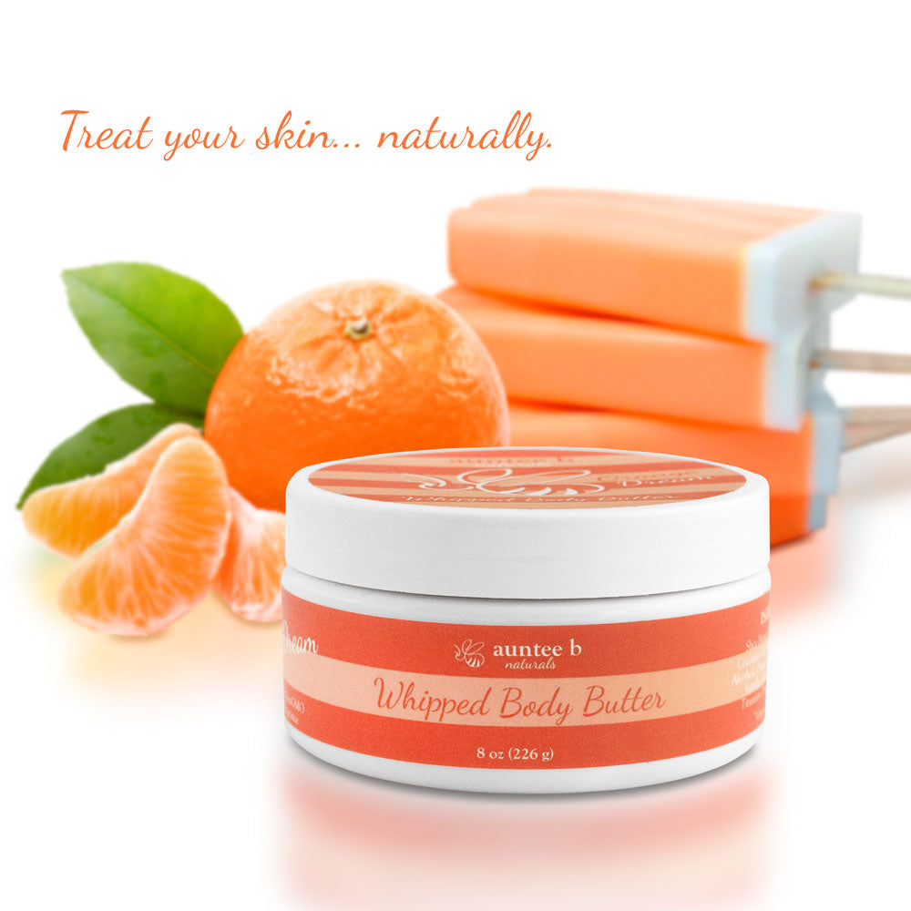 Auntee B Naturals™ Whipped Body Butter - Orange Dream