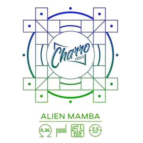 Resistencia Charro Single Alien Mamba (pack de 2uni)