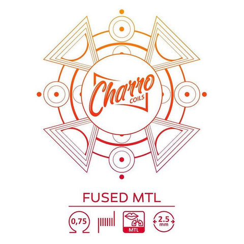 Resistencia Charro Single Fused MTL (pack de 2uni)