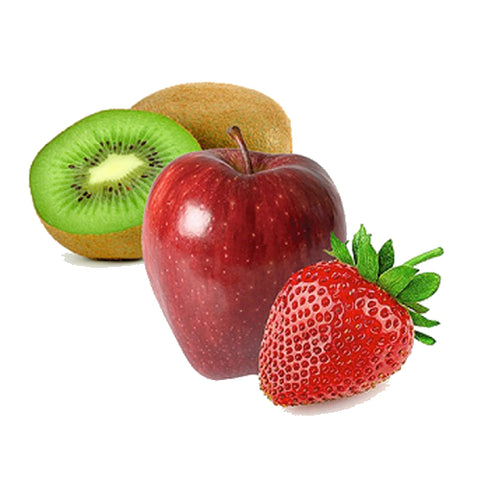 Kiwi, Apple and Strawberry