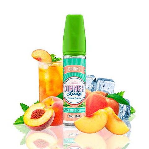Peach Mint Iced Tea 50ml (Dinner Lady)