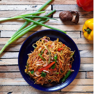 Sichuan Fried Noodles