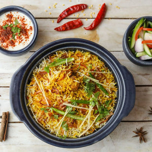 Seasonal Vegetable Biryani