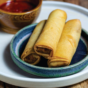 Sichuan Style Vegetable Spring Roll
