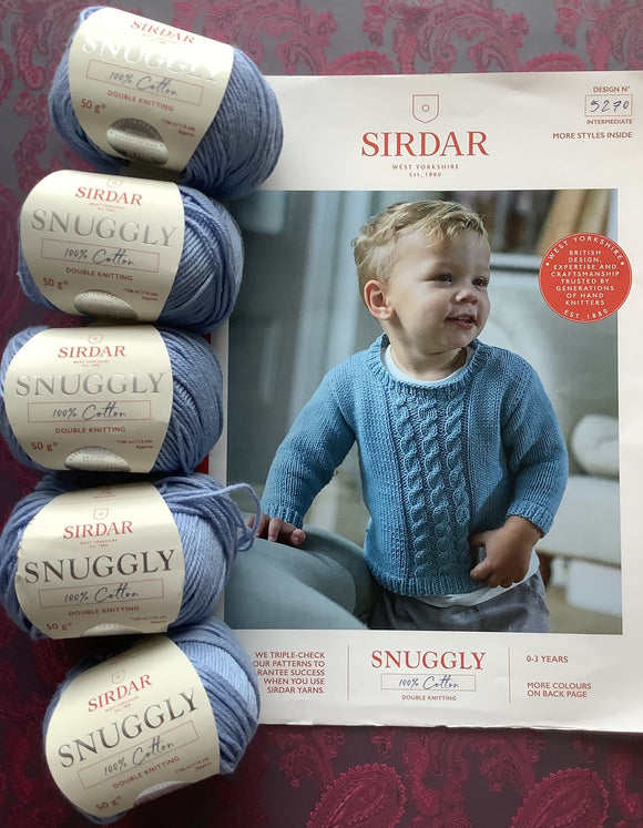 SALE! Jumper Knitting Kit was £26 now £18
