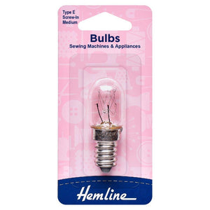 Sewing Machine Bulb: Screw-In: Medium
