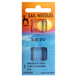 Hand Sewing Needles: Sail: 2.75 inches