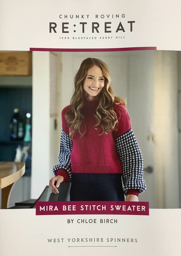 Mira Bee Stitch Sweater