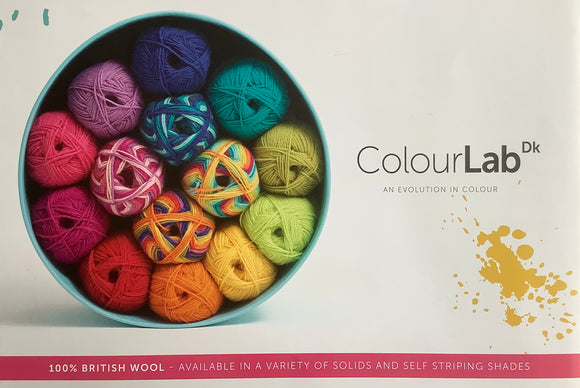 ColourLab DK Crochet Patterns