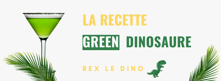 Green Dinosaur Cocktail: La recette