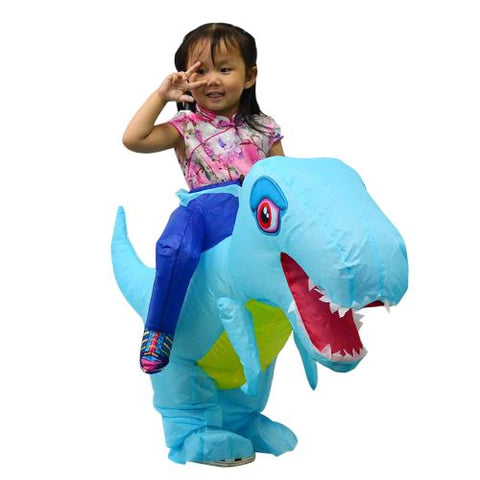 Costume dinosaure gonflable enfant