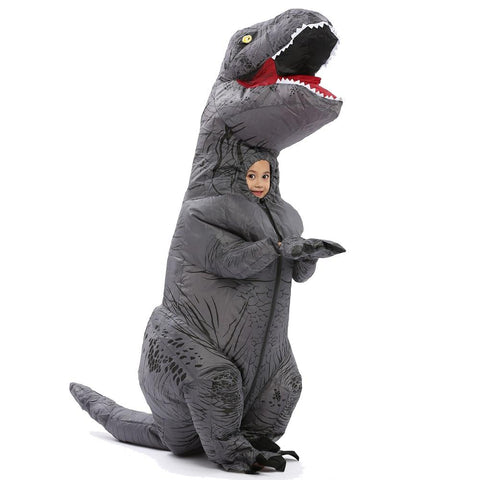 costume tyrannosaure gonflable