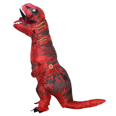 dinosaure costume gonflable