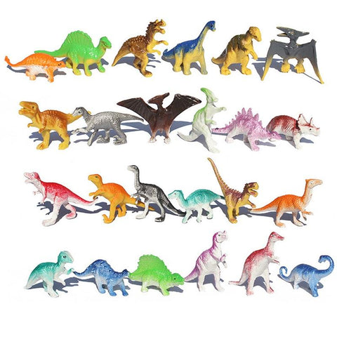 lot de figurines dinosaures