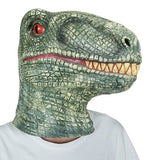 Masque Dinosaure Latex profil