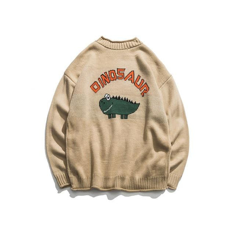 Pull dinosaures adulte