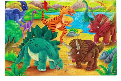 puzzle dinosaure 200 pieces