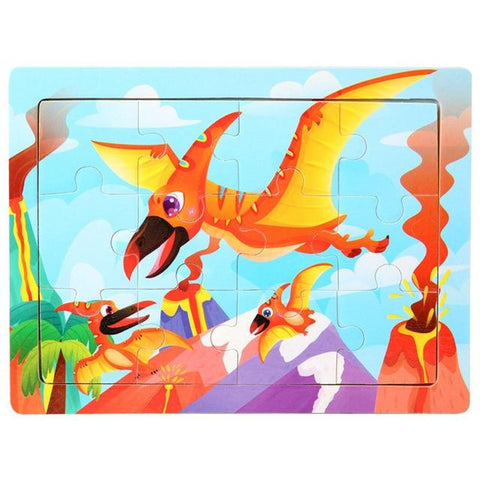 dinosaures puzzle