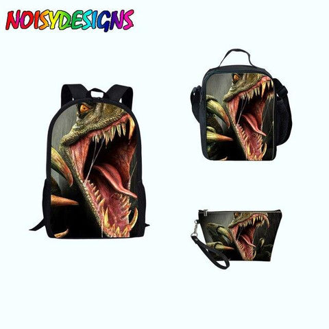 Sac Dinosaure <br> Item Weight: 0.6kg Pattern Polyester  Item Length: 28cm Item Width: 13cm -capacity: 20-35 litre