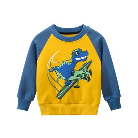 Sweat garcon dinosaure