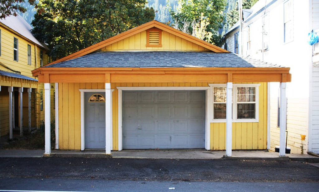 Garage Door Makeover Inspiration