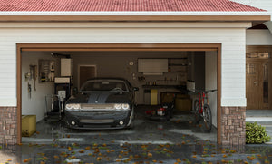 Flooded garage