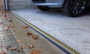 "1"" High Garage Door Threshold Seal Kit"