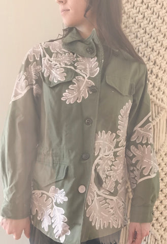 Renewed Vintage - Painted Army Jacket