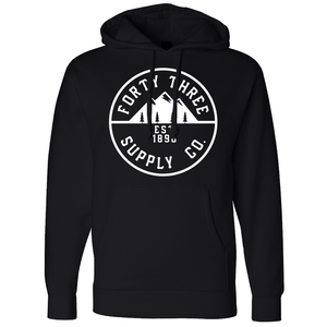 Black Supply Heavyweight Hoodie