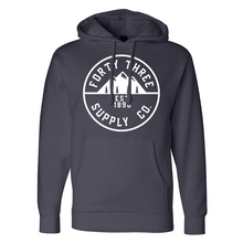 Load image into Gallery viewer, Grey Supply Heavyweight Hoodie