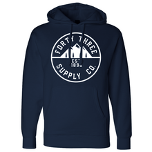 Load image into Gallery viewer, Navy Supply Heavyweight Hoodie