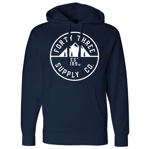 Navy Supply Heavyweight Hoodie