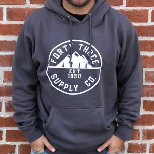Grey Supply Heavyweight Hoodie