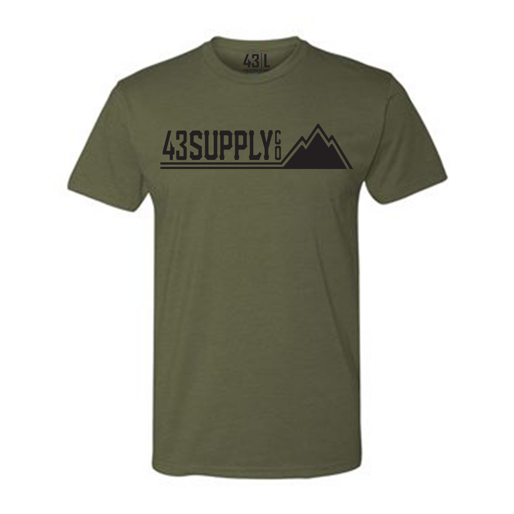 The Military Green Mountain Shirt