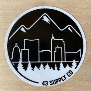 City of Trees Sticker