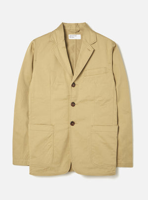 Universal Works London Jacket sand twill
