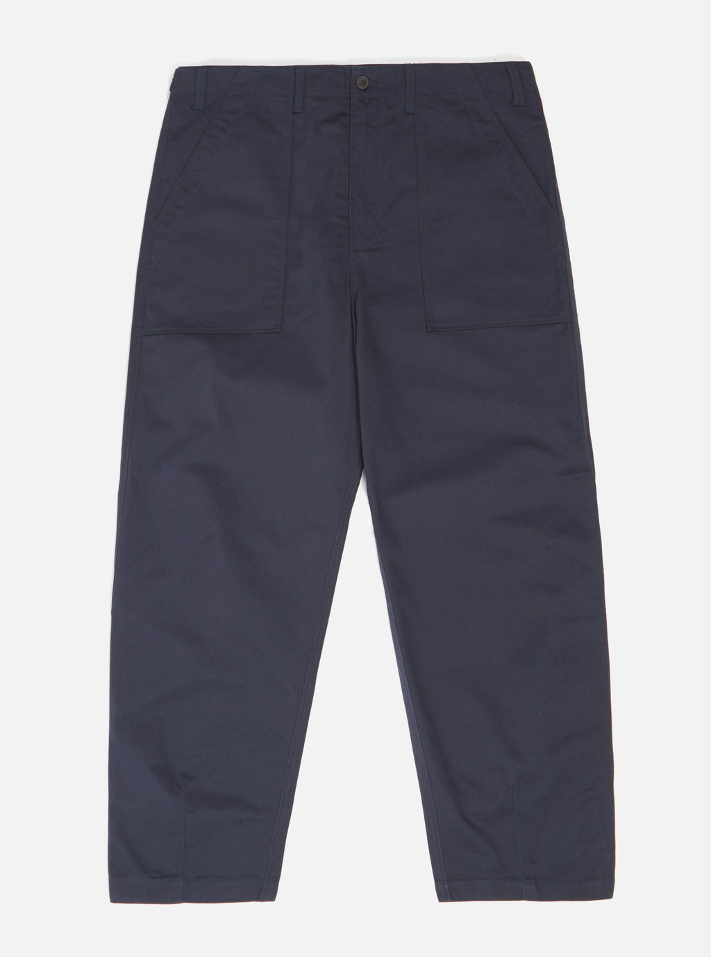 Universal Works Fatigue Pant navy twill