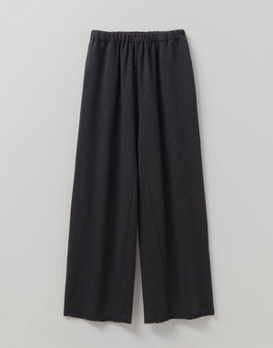 Toast Loop Back Jersey Trouser Charcoal