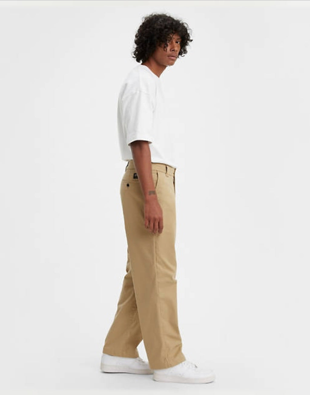 Levi's Made&Crafted Relaxed Chino lmc harvest gold - neutral