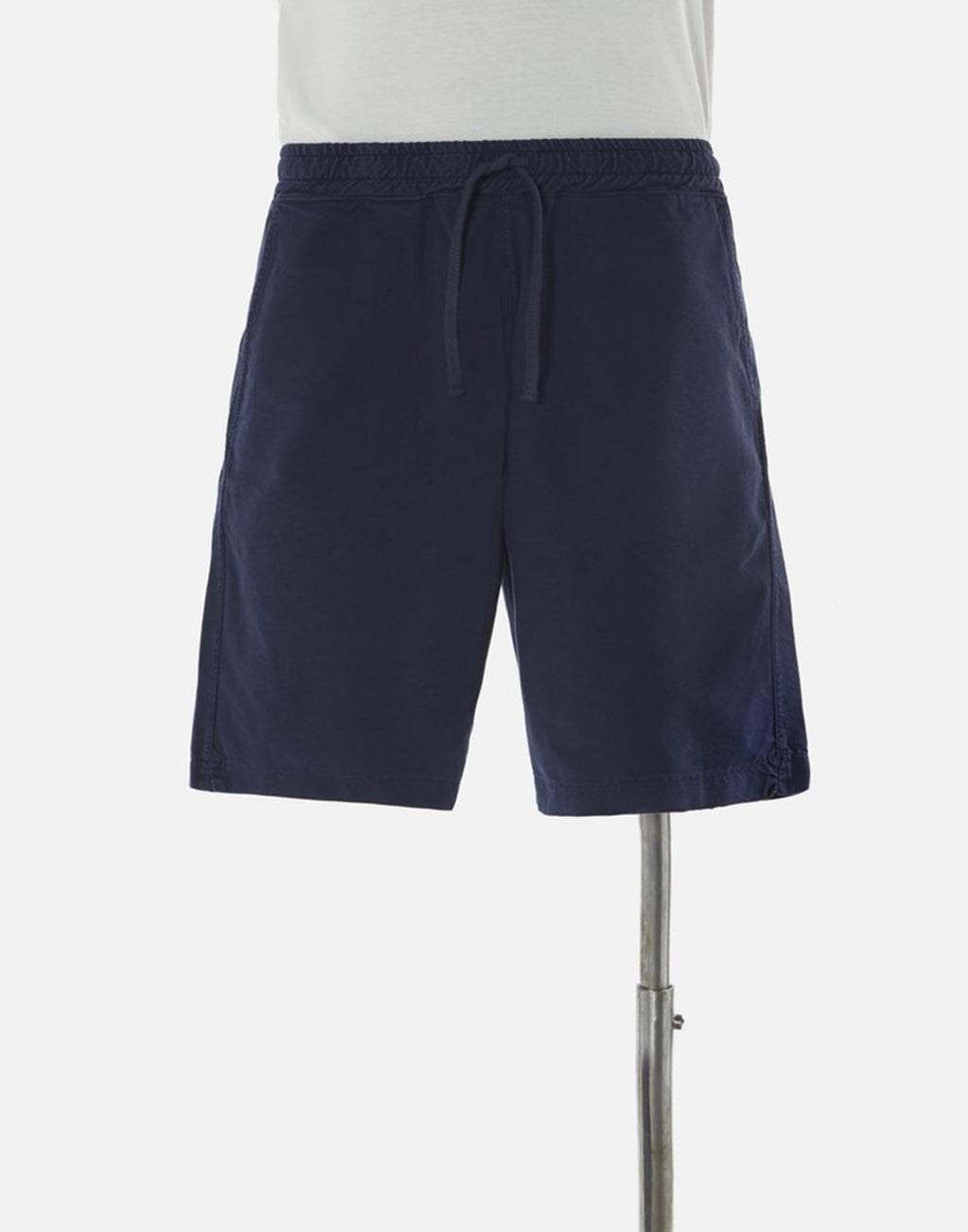 Universal Works Lumber Short In Navy Light Canvas
